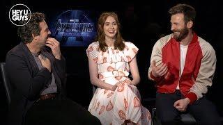 Chris Evans, Karen Gillan & Mark Ruffalo on Avengers: Endgame
