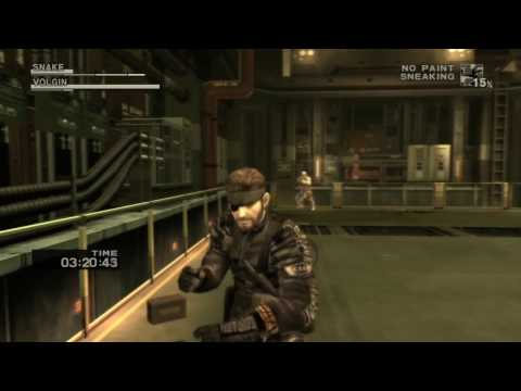 MGS3 Snake Eater HD - CQC Only Colonel Volgin ' E-Extreme 2:43