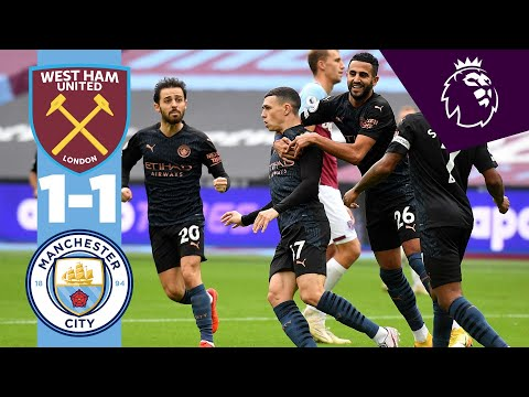 West Ham Manchester City Goals And Highlights