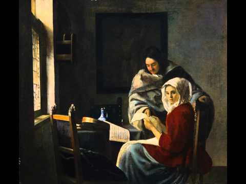 Johannes Vermeer / Girl interrupted at her music 1661
