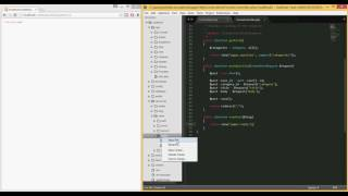 PHP/Laravel - Building a forum like website from scratch (tut 14)