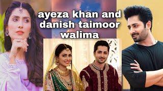 Ayeza khan & Danish Taimoor Walima Video