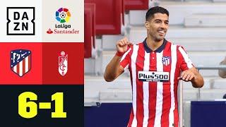 Luis Suarez mit Doppelpack zum Einstand: Atletico Madrid - Granada 6:1 | LaLiga | DAZN Highlights