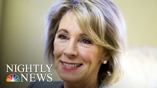 Betsy DeVos Confirmed As Education Secretary, VP Mike Pence Casts Historic Vote | NBC Nightly News