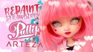 REPAINT Pullip Strawberry Girl with ARTEZA products ☽ Moonlight Jewel ☾