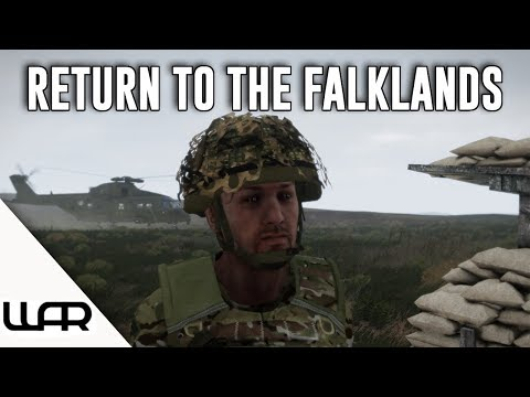 💥 RETURN TO THE FALKLANDS - 100TH VIDEO - Second Falklands War - Alternate History Episode- Arma