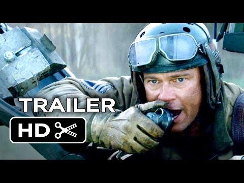 Fury Official Trailer #1 (2014) - Brad Pitt, David Ayer War Movie HD