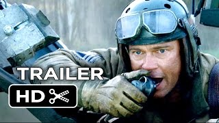 Fury Official Trailer #1 (2014) - Brad Pitt, David Ayer War Movie HD
