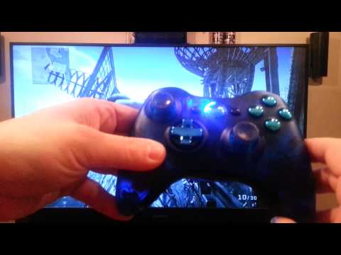 Using a Xbox 360 Controller on a Playstation 3. Cross Trigger / Maxgear.