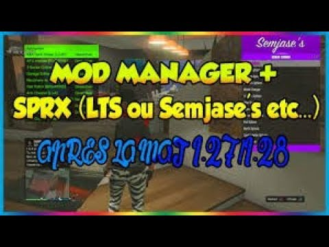 ps3 gta 5 online best mod manager sprx lts craked free 1 28 tutorial download