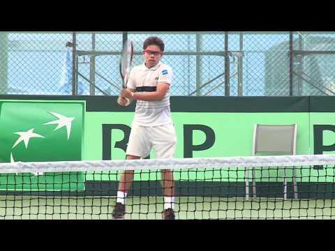 นักเทนนิสไทย ชุด DAVIS CUP ซ้อมวันที่สอง 13 02 57