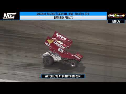 DIRTVISION REPLAYS | Knoxville Raceway August 9, 2019