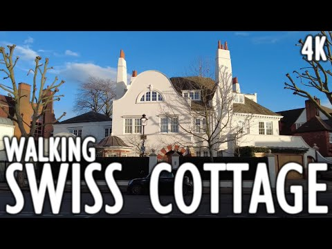 Swiss Cottage - The Most Expensive Areas to Live in London - 4K Walking Tours