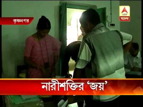 All-women polling team at 10 booths of Krishnanagar in Nadia