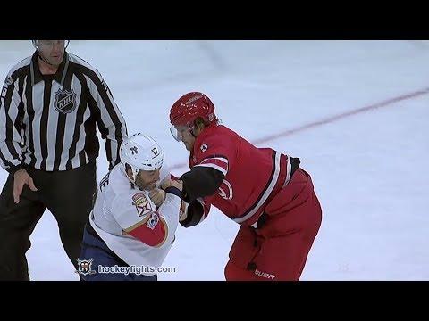 Derek MacKenzie vs Noah Hanifin Dec 2, 2017