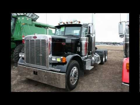 (2) 2007 Peterbilt 379's With Low Miles Sold On Minnesota Auction
