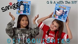 NEW Smiggle DIY Squishies 3 Marker Challenge and Would You Rather with my BFF | Bella Mix