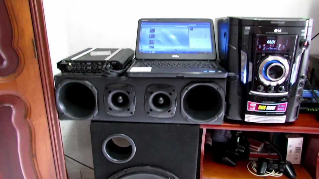 Home Theater Subwoofer >> Som automotivo ligado na energia - YouTube