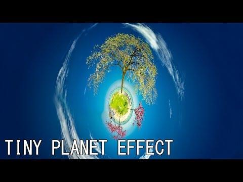Photoshop CS6 Tiny Planet Effect