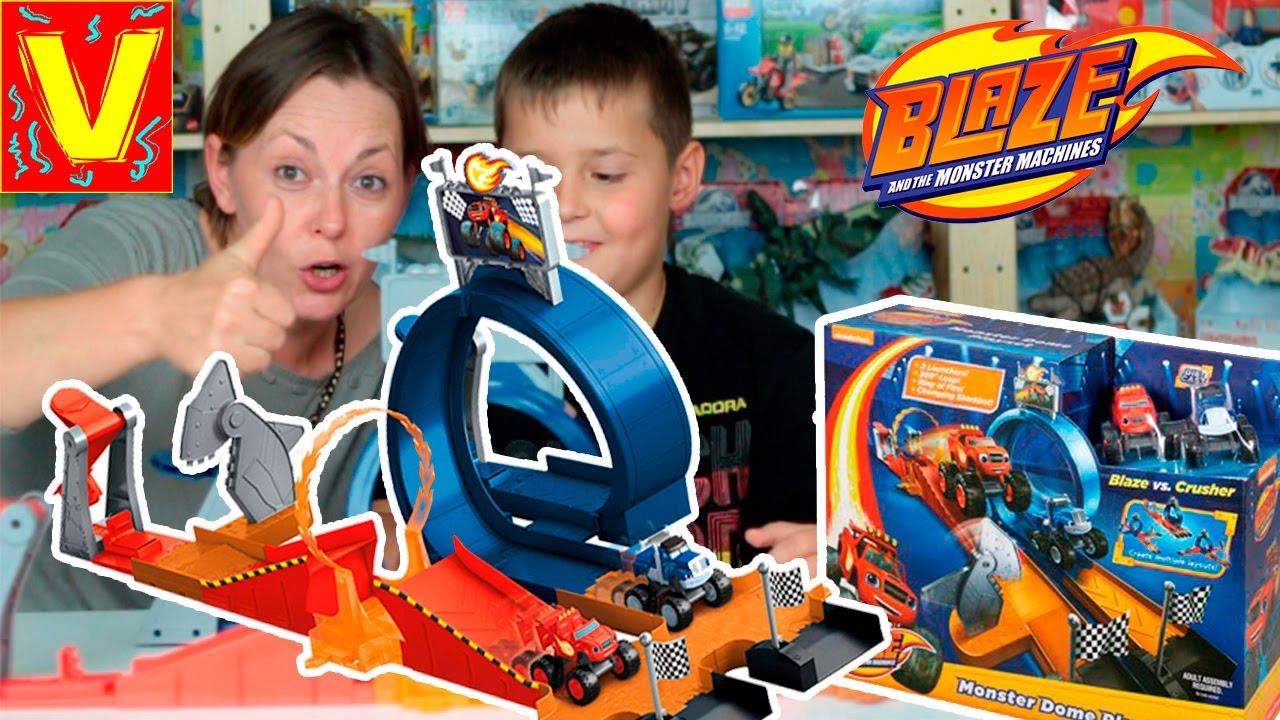 Blaze e le mega macchine apertura nuovo gioco blaze for Blaze e le mega macchine youtube
