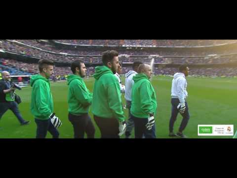 El Penalti imposible de Codere Apuestas - Santiago Bernabéu.