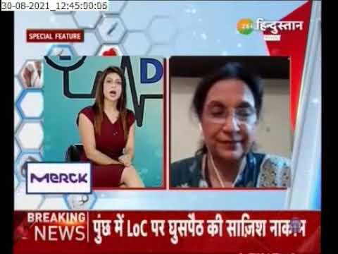 Zee Hindustan TV News Chanel Doctor's Talk - Dr. Abha Majumdar