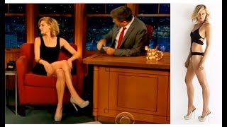 Elize Coupe Flirts with Craig Ferguson with those Hot Legs, Interview Compilation