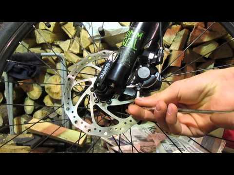 Как настроить дисковые механические тормоза на велосипеде