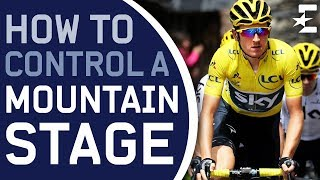 The Secret Behind Sky's Climbing Dominance   Controlling a Mountain Stage   Eurosport Explainers