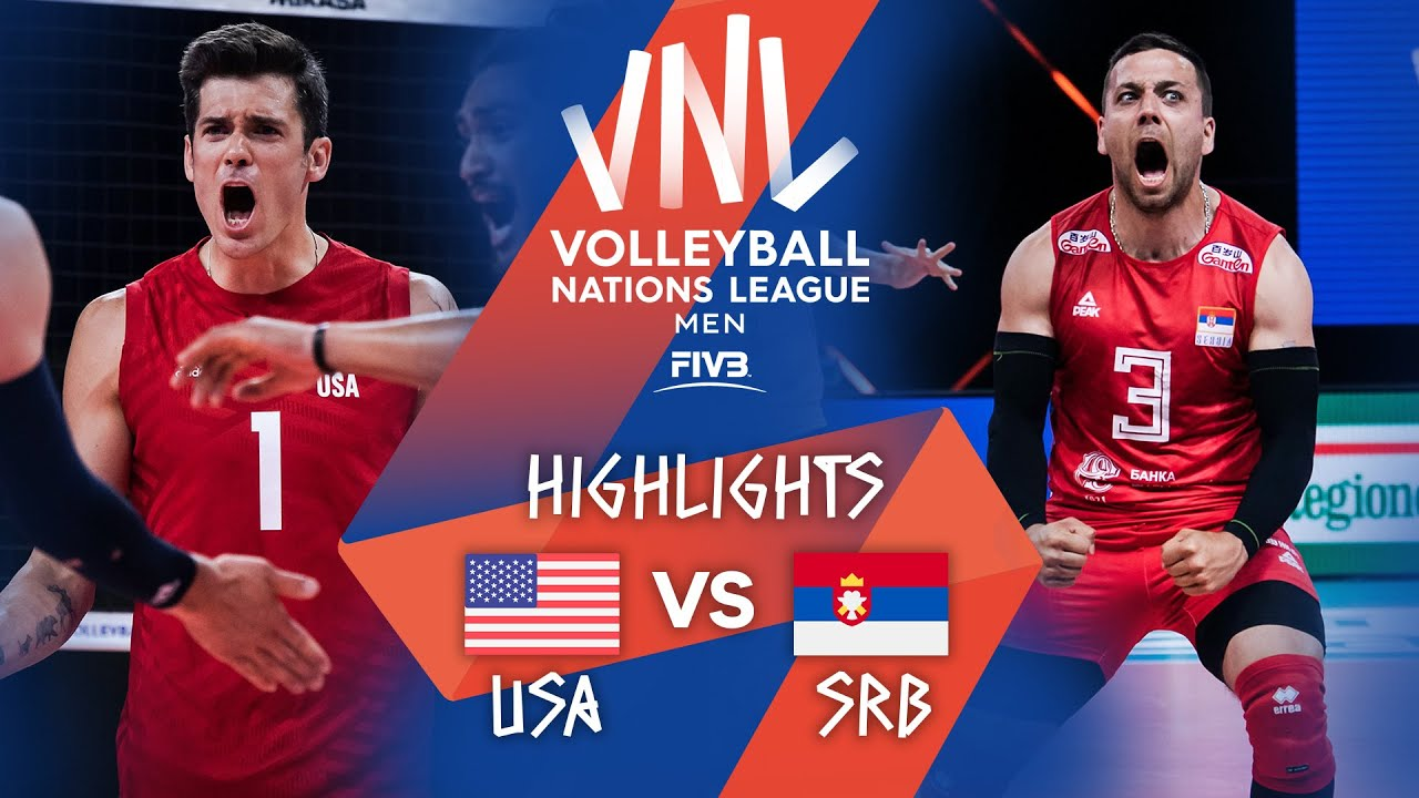Download USA vs. SRB - Highlights Week 3 | Men's VNL 2021