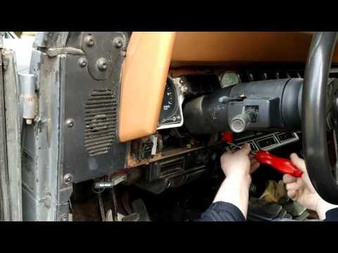 How To Change -1995 Jeep Wrangler Dash Lights [HD]