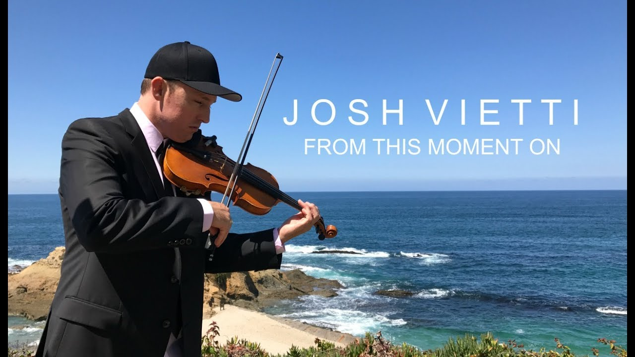 Wedding Song From This Moment On Josh Vietti