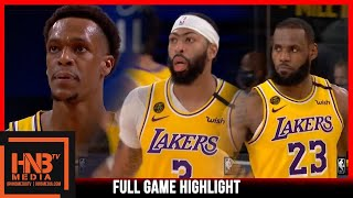 Lakers vs Nuggets 9.24.20 Game 4 | Western Finals | Full Highlights