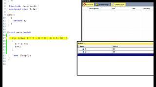 """программирование на си для микроконтроллеры avr  ( c для avr """"операторы цикла"""")"""
