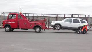 Эвакуатор с частичной погрузкой