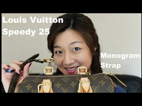 Louis Vuitton Speedy 25 Review | Monogram Strap (Requested) | Yuenny Lam