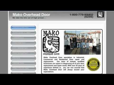 Mako Overhead Door Youtube