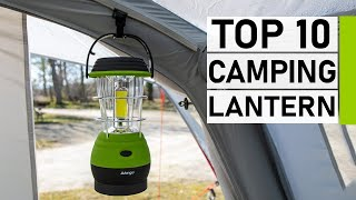 Top 10 Best Rechaŗgeable Camping Lantern