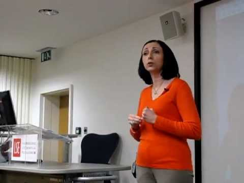 """Marina Nemat talk at """"The Power of Literature and Human Rights"""" Novel Rights&LSE event"""