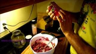 Healthy Canned Foods: The Best Protein That Comes From The Can. Beet Bean Pickle Salad Vinaigrette