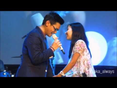 Bukan Cinta Biasa - Afgan with lucky girl Billa
