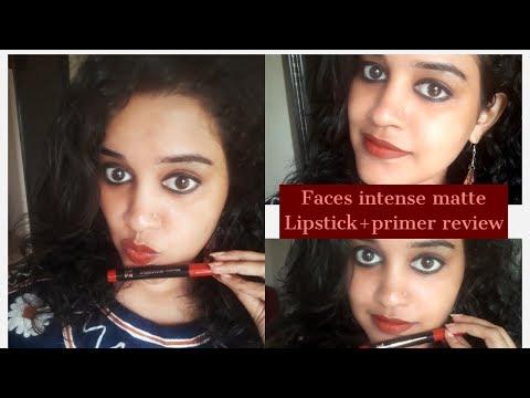 **new**faces-ultimate-pro-hd-intense-matte-lipstick+primer -review&-demo -fashion-diva