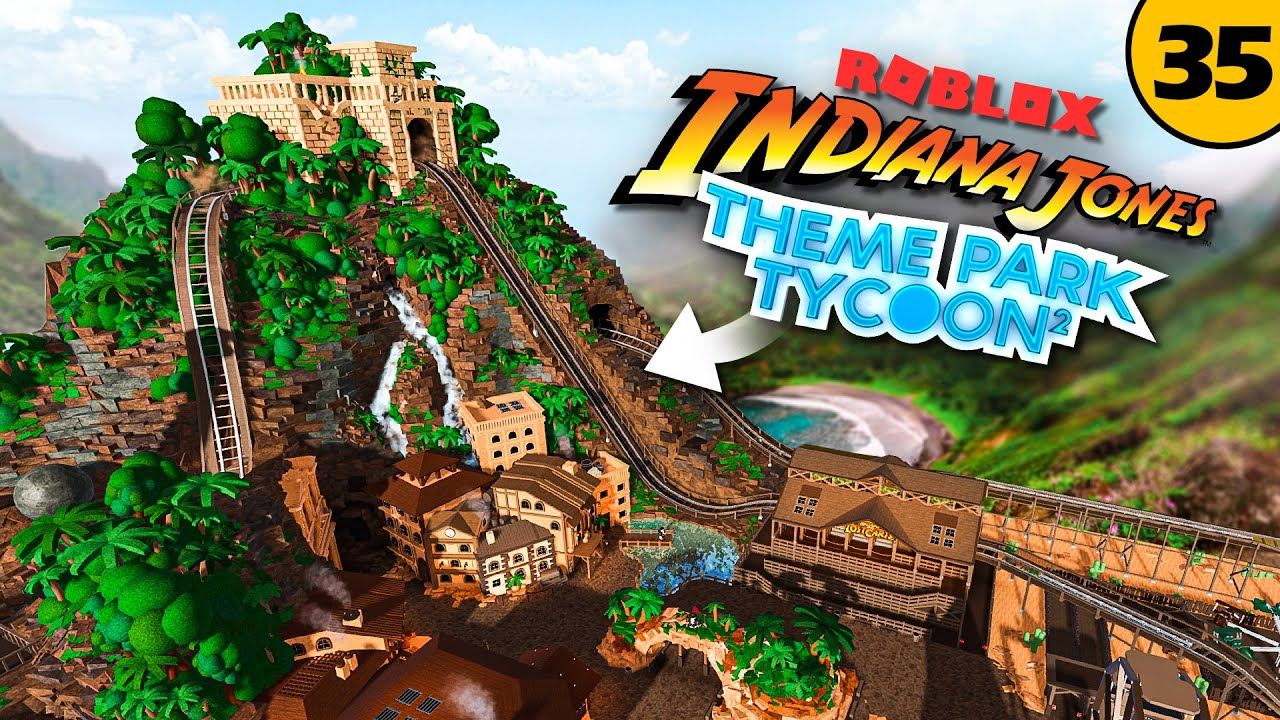 Download Finishing the INDIANA JONES AREA!   Theme Park Tycoon 2 • #35 [with cinematics]