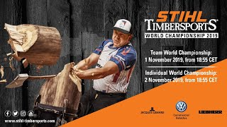 STIHL TIMBERSPORTS® Individual World Championship 2019 [english]