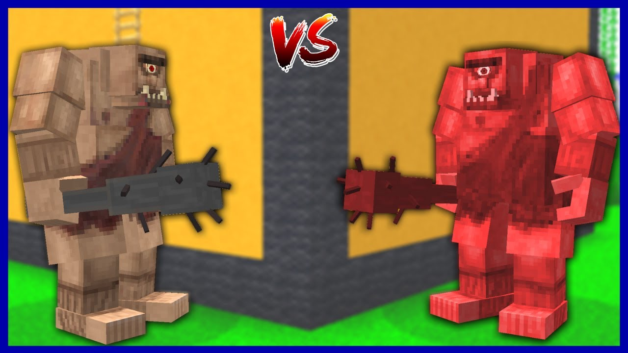 KORKUNÇ TEPEGÖZ VS KÖTÜ İKİZ'İ! 😱 - Minecraft