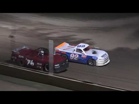 Pro Truck Feature Race at Crystal Motor Speedway, Michigan on 08-31-2019!
