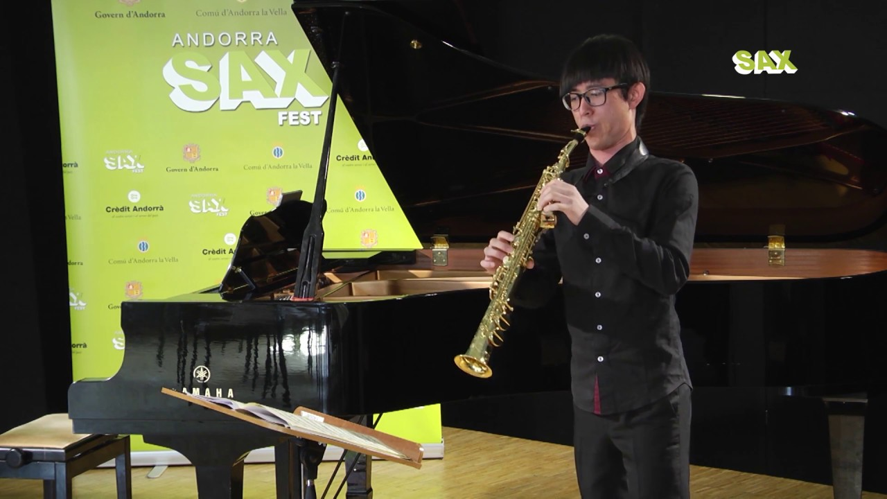 CHUN HAO CHAO - 1st ROUND - V ANDORRA INTERNATIONAL SAXOPHONE COMPETITION 2018