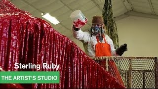 Sterling Ruby - Urethane Works - The Artist