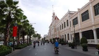 Saigon 2015  - Street View District 1 - Vietnam Tour