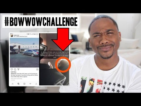 The Internet ROASTS Bow Wow for Faking It On Instagram! #BowWowChallenge
